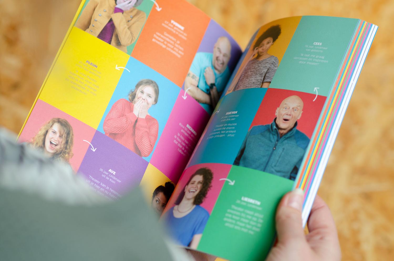 Grafisch ontwerp leiden, grafisch ontwerp, kordaat, studio kordaat, leiden, grafisch ontwerper, grafische vormgeving, graphic design, vormgeving, Leidse schouwburg stadsgehoorzaal, Leidse schouwburg, seizoensbrochure, campagne, posters, flyers, brochure