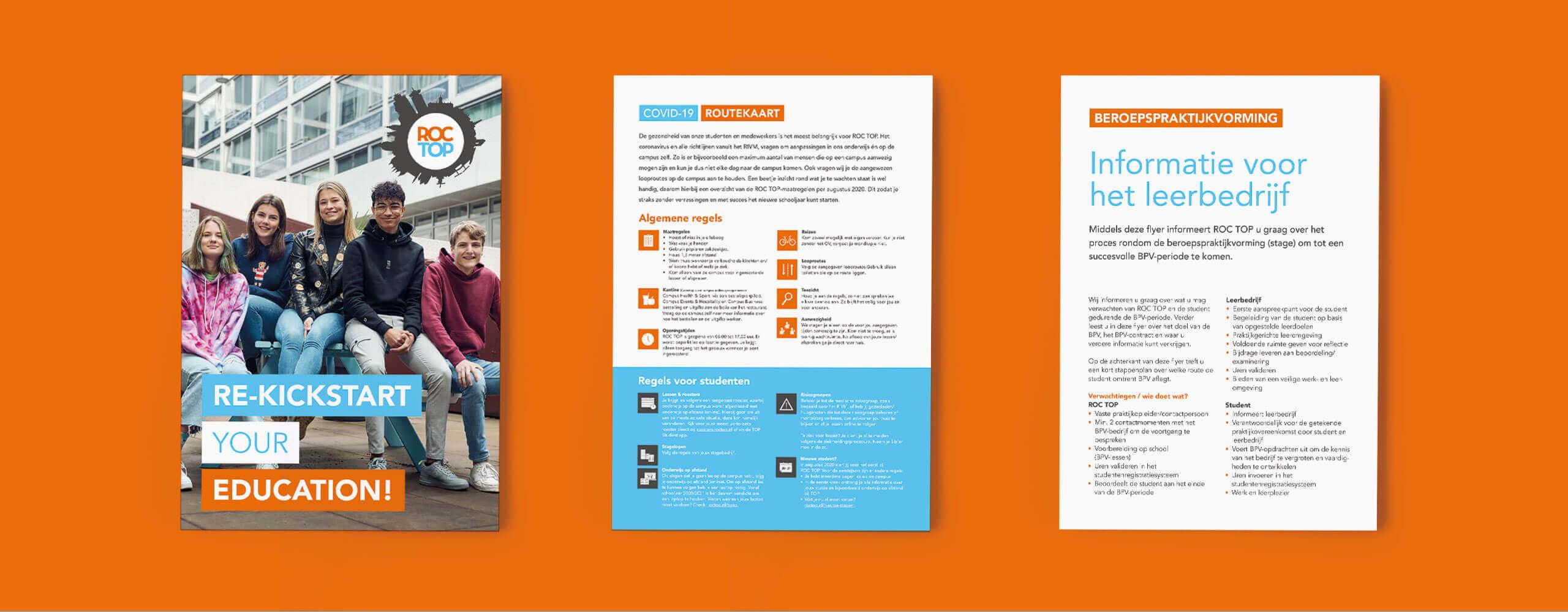 roc top, mbo onderwijs, roc top huisstijl, beslisboom ontwerp, beslisboom, jaarverslag, jaarverslag ontwerp, Grafisch ontwerp, grafische vormgeving, graphic design, grafisch ontwerp leiden, graphic design leiden, communicatie leiden, communicatie ontwerp, branding, branding design, merk ontwerp, visuele identiteit, visual identity,